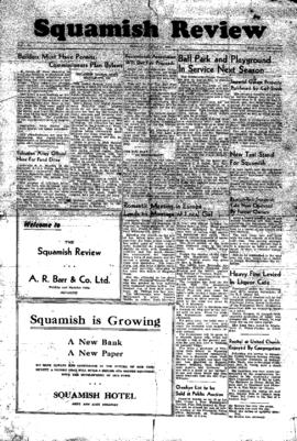 Squamish Review: Wednesday, August 11, 1948