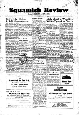 Squamish Review: Friday, October 8, 1948