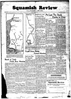 Squamish Review: Tuesday, March 15, 1949