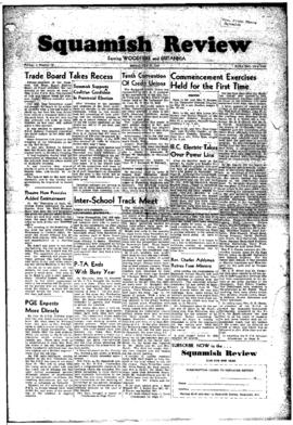 Squamish Review: Monday, June 27, 1949