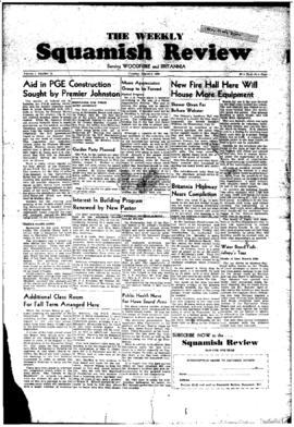Squamish Review: Tuesday, August 2, 1949