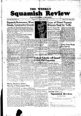 Squamish Review: Tuesday, August 9, 1949