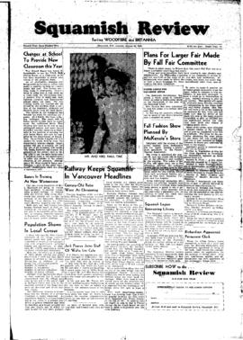 Squamish Review: Monday, August 29, 1949