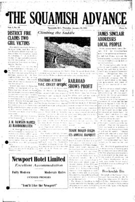 Squamish Advance: Thursday, January 25, 1981