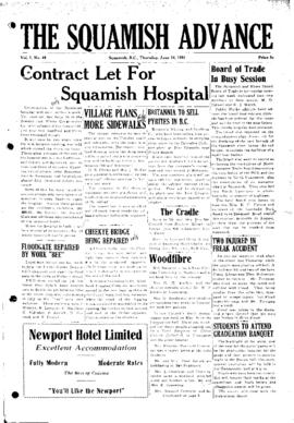 Squamish Advance: Thursday, June 14, 1951