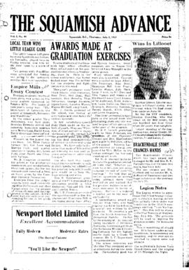 Squamish Advance: Thursday, July 2, 1953