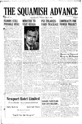 Squamish Advance: Thursday, May 5, 1955