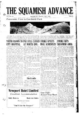 Squamish Advance: Thursday, July 7, 1955