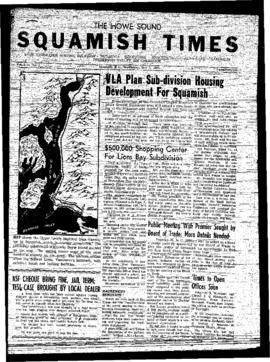 Squamish Times: Wednesday, May 1, 1957