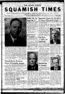 Squamish Times: Monday, May 6, 1957