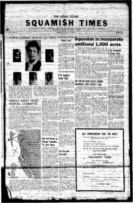 Squamish Times: Friday, May 24, 1957