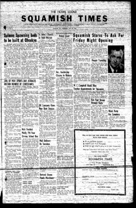 Squamish Times: Wednesday, May 29, 1957