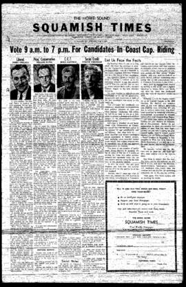 Squamish Times: Wednesday, June 5, 1957