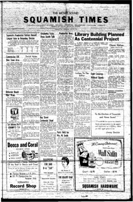 Squamish Times: Wednesday, June 12, 1957