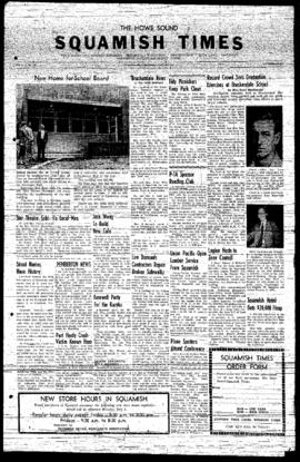 Squamish Times: Wednesday, July 3, 1957