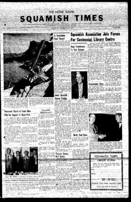 Squamish Times: Wednesday, July 10, 1957