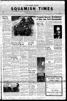 Squamish Times: Wednesday, July 17, 1957