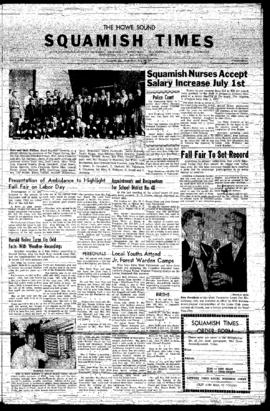 Squamish Times: Wednesday, July 24, 1957