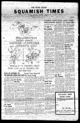 Squamish Times: Thursday, August 1, 1957