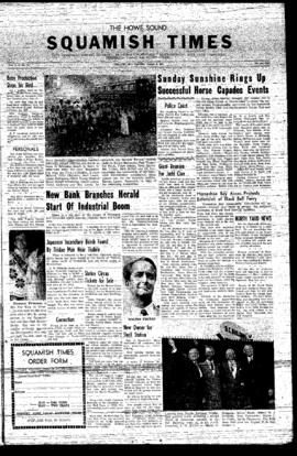 Squamish Times: Thursday, August 8, 1957