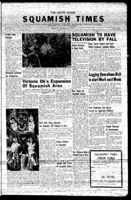 Squamish Times: Thursday, August 15, 1957