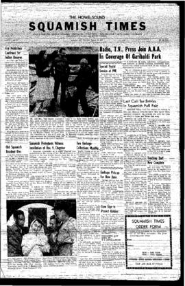 Squamish Times: Thursday August 22, 1957