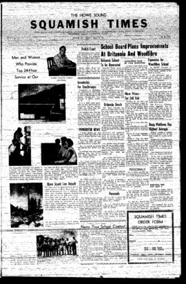 Squamish Times: Thursday, August 29, 1957