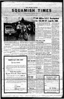 Squamish Times: Thursday, September 5, 1957