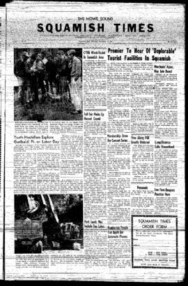 Squamish Times: Thursday, September 12, 1957