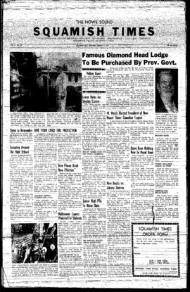 Squamish Times: Thursday, October 3, 1957