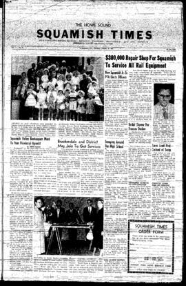 Squamish Times: Thursday, October 10, 1957