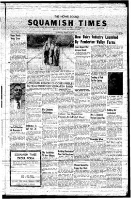 Squamish Times: Thursday, October 17, 1957