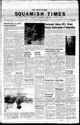 Squamish Times: Thursday, October 31, 1957