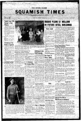 Squamish Times: Thursday, November 7, 1957