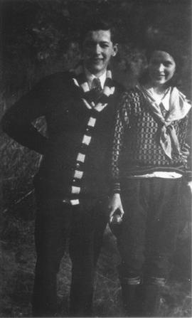 Jack Hutton and Clara Judd