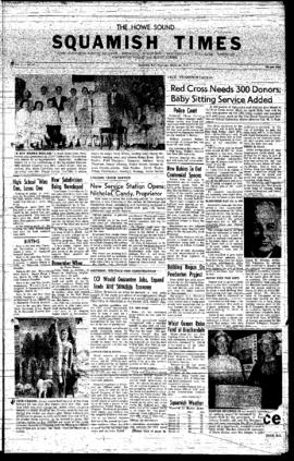 Squamish Times: Thursday, March 20, 1958