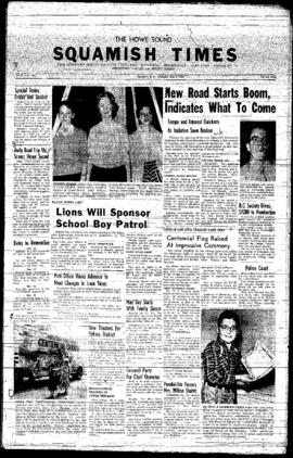 Squamish Times: Thursday, May 8, 1958