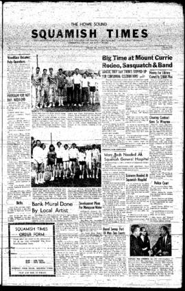 Squamish Times: Thursday, May 15, 1958