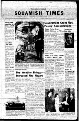 Squamish Times: Thursday, May 22, 1958