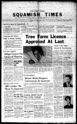 Squamish Times: Thursday, January 7, 1960