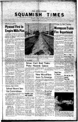 Squamish Times: Thursday, January 21, 1960