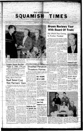 Squamish Times: Thursday, January 28, 1960