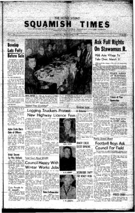 Squamish Times: Thursday, February 18, 1960