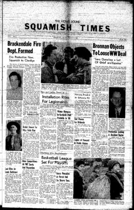 Squamish Times: Thursday, February 25, 1960