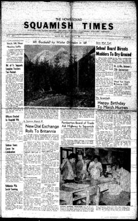 Squamish Times: Thursday, March 3, 1960