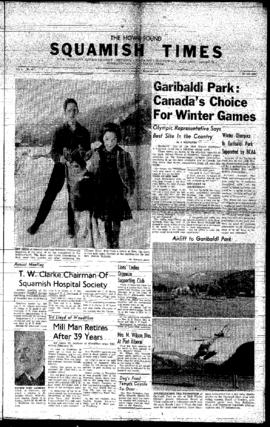 Squamish Times: Thursday, March 10, 1960