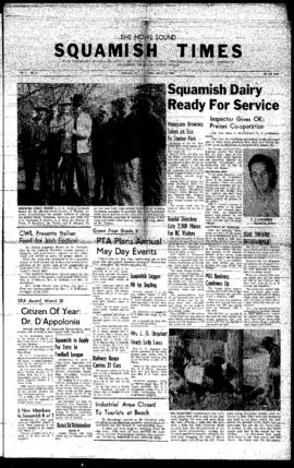 Squamish Times: Thursday, March 24, 1960