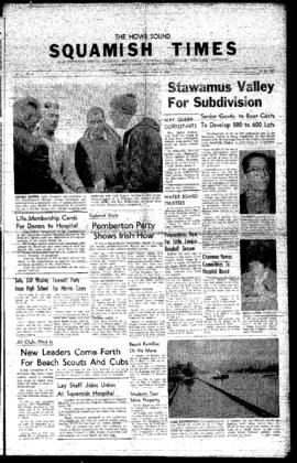 Squamish Times: Thursday, March 31, 1960