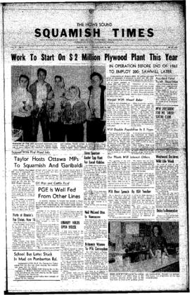 Squamish Times: Thursday, April 14, 1960
