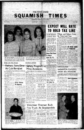 Squamish Times: Thursday, April 7, 1960